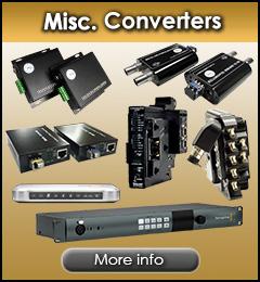 Misc. Fiber Optic Converters